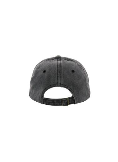 Laslusa City New York Beyzbol Cap Şapka Gri